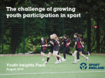 Sport England Youth Insight