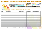 Primary Leadership Passport for Sedgemoor