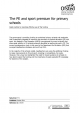 The PE and sport premium for primary schools