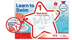 Learn to Swim Stage Awards