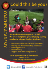 Are you 16-24? Join the Somerset FA Coaching Academy