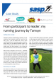 From participant to leader: my running journey by Tamsyn