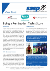 Being a Run Leader: Tash's Story