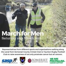 March for Men - Revitalise Launch