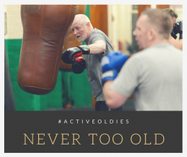Join our Active Oldies Revolution