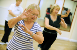 Age UK Somerset to train volunteers to teach Shibashi Tai Chi, as part of their ongoing commitment to Falls Prevention in Somerset