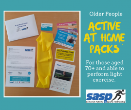 SASP launches Older People Active at Home Packs across Somerset to keep people moving