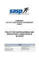 Safeguarding and Protecting Young People Safeguarding Policy