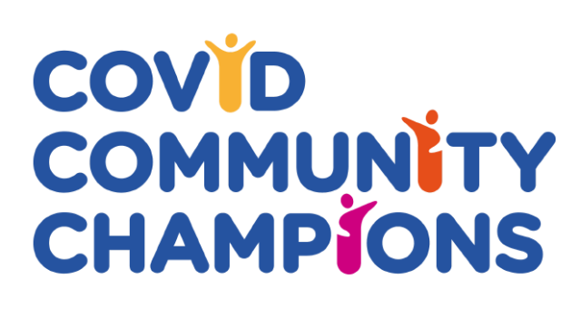 Be a Covid Community Champion!