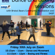 Inclusive Dance and Movement Session with Bristol Bears Community Foundation (Virtual)