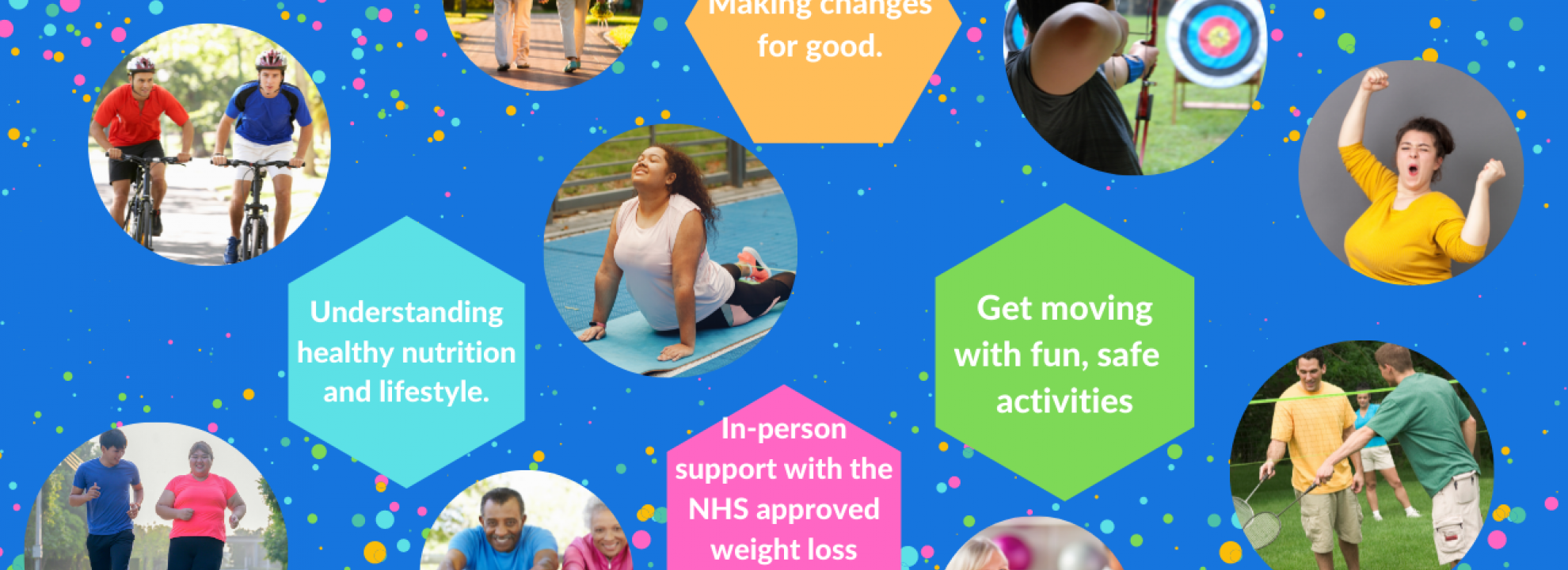 Active Lifestyle, Healthy Weight, 12 week course with the Bridgwater Health and Wellbeing Coaches - September 2021 Banner