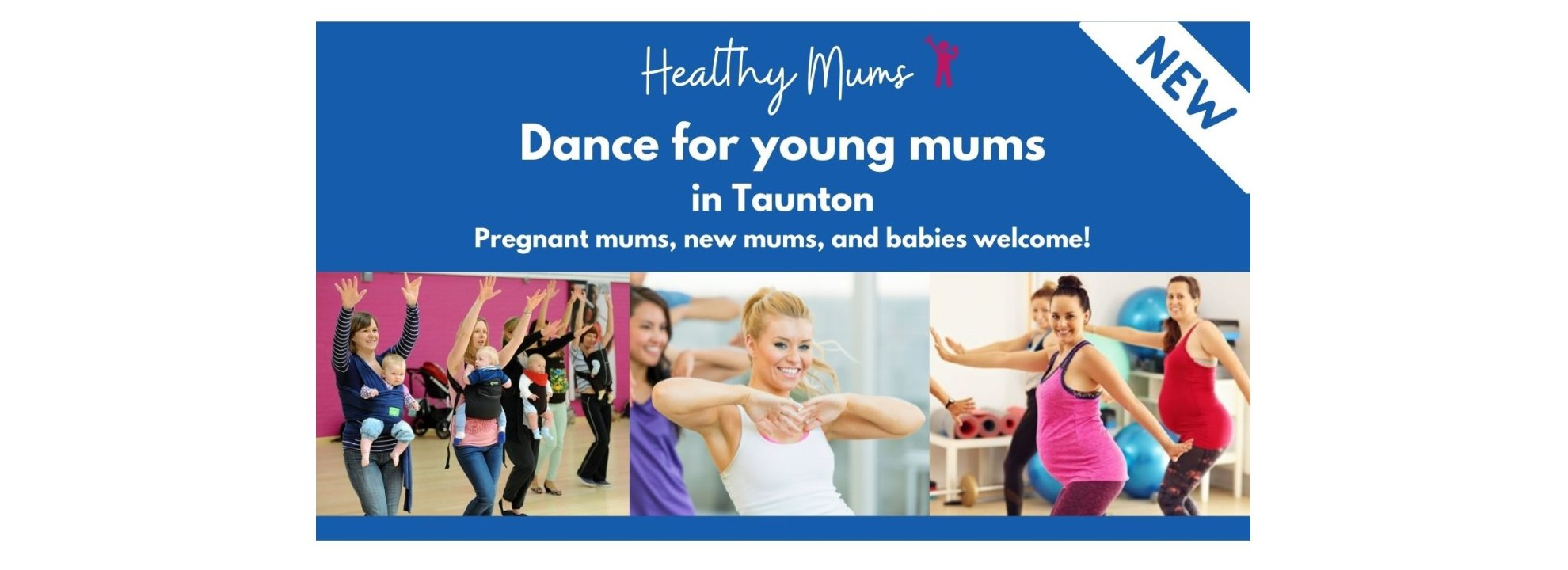 Free Young Mums Dance Sessions Banner