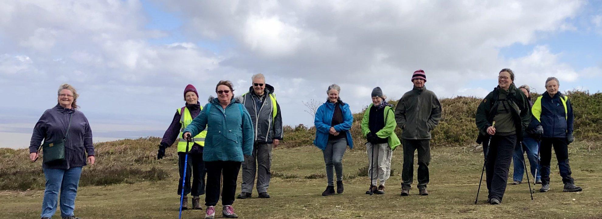 Walk Leader Training West Somerset Banner