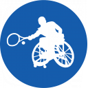 Wheelchair Tennis Icon