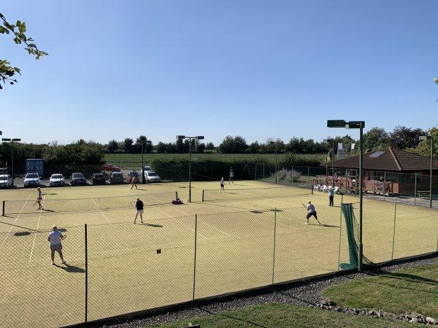 Bridgwater Lawn Tennis Club Banner