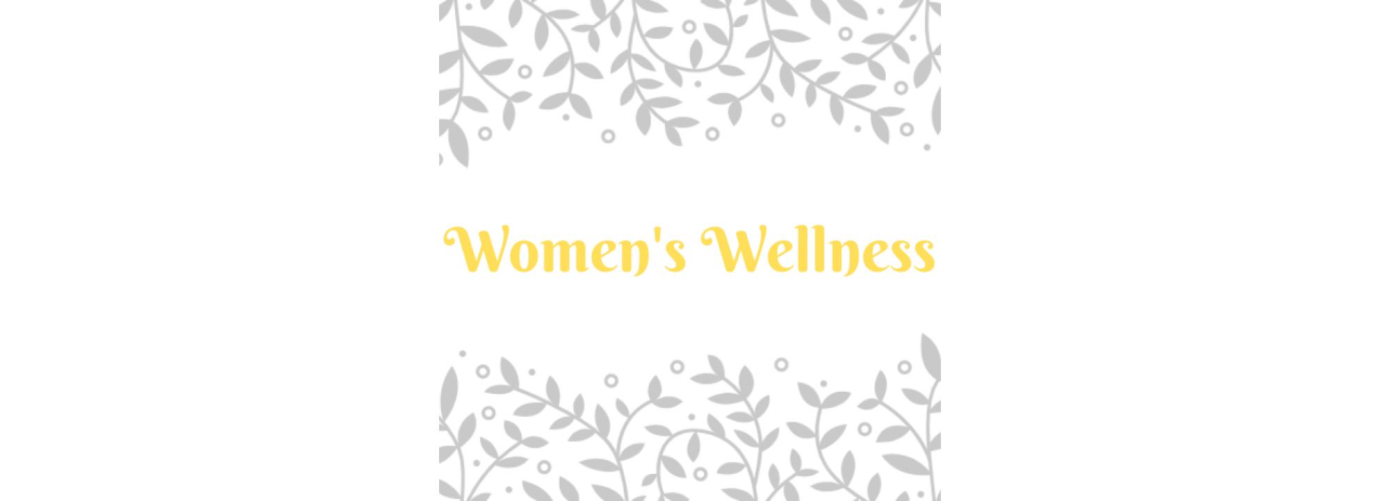 Women's Wellness Autumn Online Course Banner