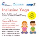 Inclusive Yoga Icon